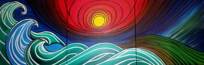 3 panels surf