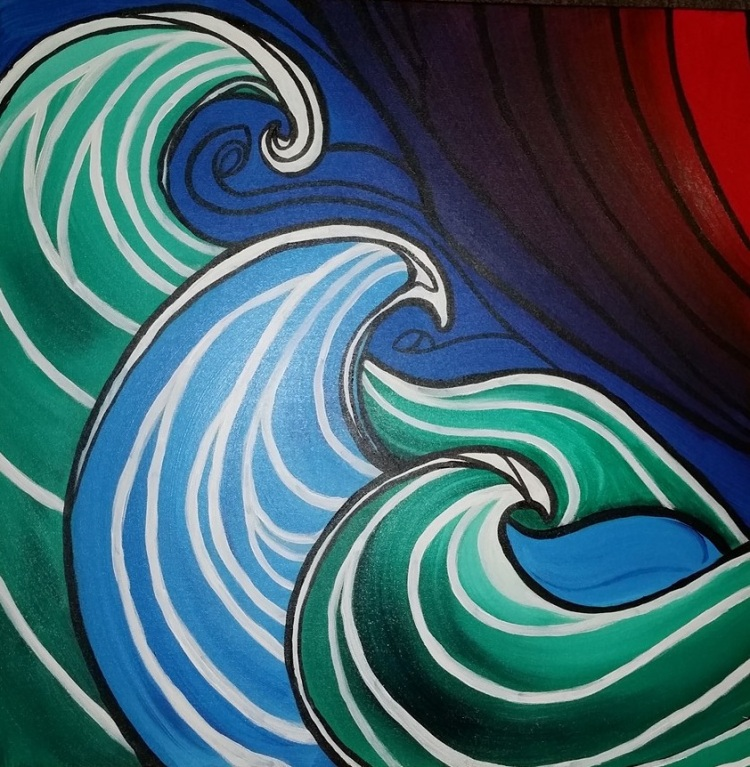 waves detail