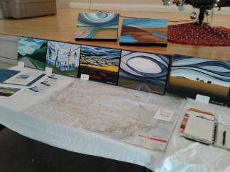 art show table 1