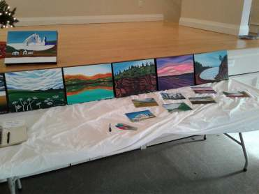 art show table 2