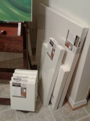 fresh canvases