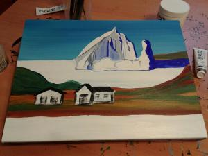 work in progress iceberg