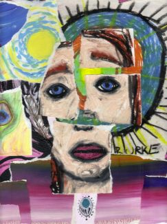self portrait collage 2010
