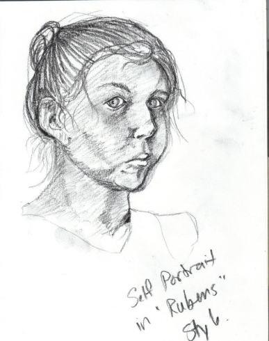 self portrait ocad 2004