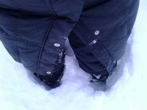 snow past my knees