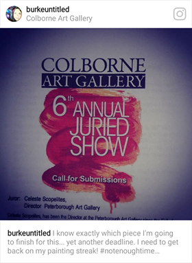 colborne juried show