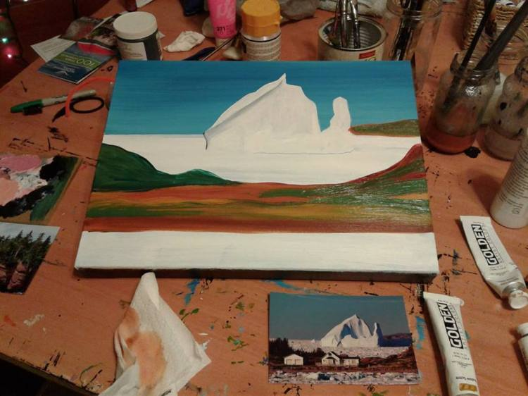iceberg begun