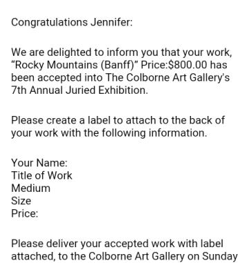 juried show 2019