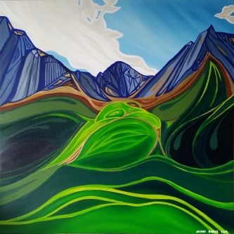 rocky mountains banff juried show